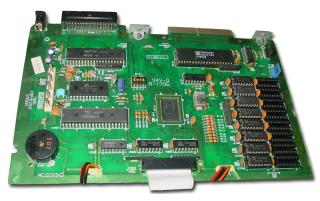 Placa base del Amstrad PCW256